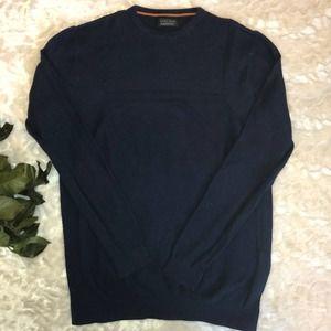 Zara Man Navy Lightweight Sweater M